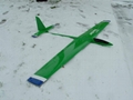 Vector III rc airplane in full carbon version 3