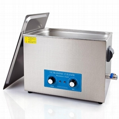 Stainless steel ultrasonic cleaner (13L)