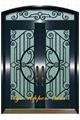 wrought iron door 1