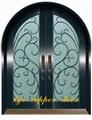 wrought iron door 4