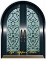 wrought iron door 5