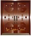 Beverly&tyi metal copper doors
