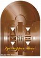 Luxury villa copper door