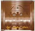 villa copper door