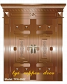 copper clad double entry doors