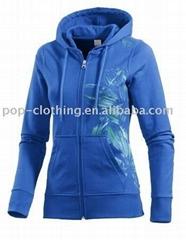 hoodied jacket