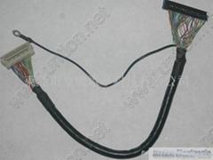 DF9M-31P帶扣屏線