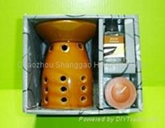 Ceramic Oil Burner gift set
