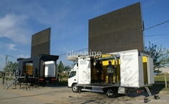 Gloshine P12.5mm Big Bee Metal Art Design Truck Commerical LED TV Display Panel