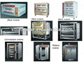 1 trolley 32 trays of diesel rotary rack oven 2