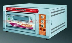 1deck 1 tray gas oven