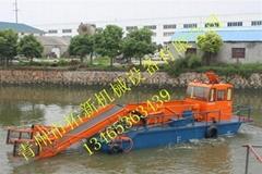 内陆河专用水草收割机