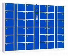 36-door electronic locker