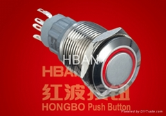 Push Button Switches (HBS2GQF-11E)