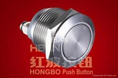 Metal Push Button Switch(HBGQ19F-10/S)
