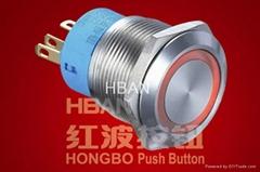 Ring-illuminated Push Button Switch(HBGQ22-11E)