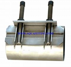 Stainless steel repair clamp