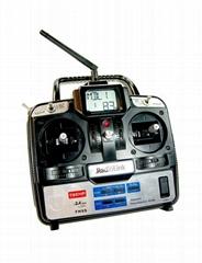 Radiolink 2.4GHz 6通道航模遥控器直升机用T6EHP