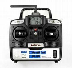Radiolink 2.4GHz 6通道航模遥控器 T6EAP固定翼用