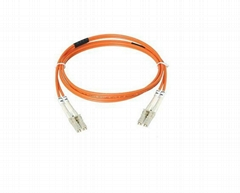LC-LC MM Duplex Fiber-optic Patch Cord for Passive Optical Networks