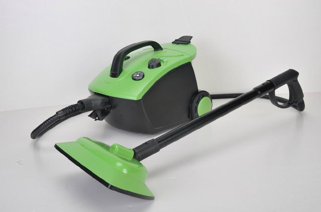 hot selling big canister steam cleaner with 1.6L boiler and 2000W powerful grade 1