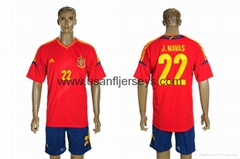 2012-2013 national team Spain home soccer