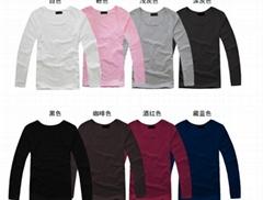 fashion men long sleeve t-shirt