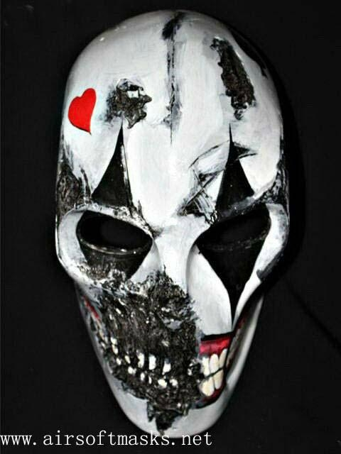 army of two paintball airsoft bb gun mask joker masks
