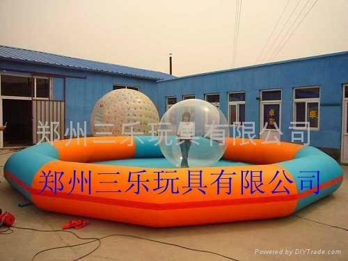 大型充气水池 2