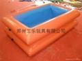 室外大型充气水池 4
