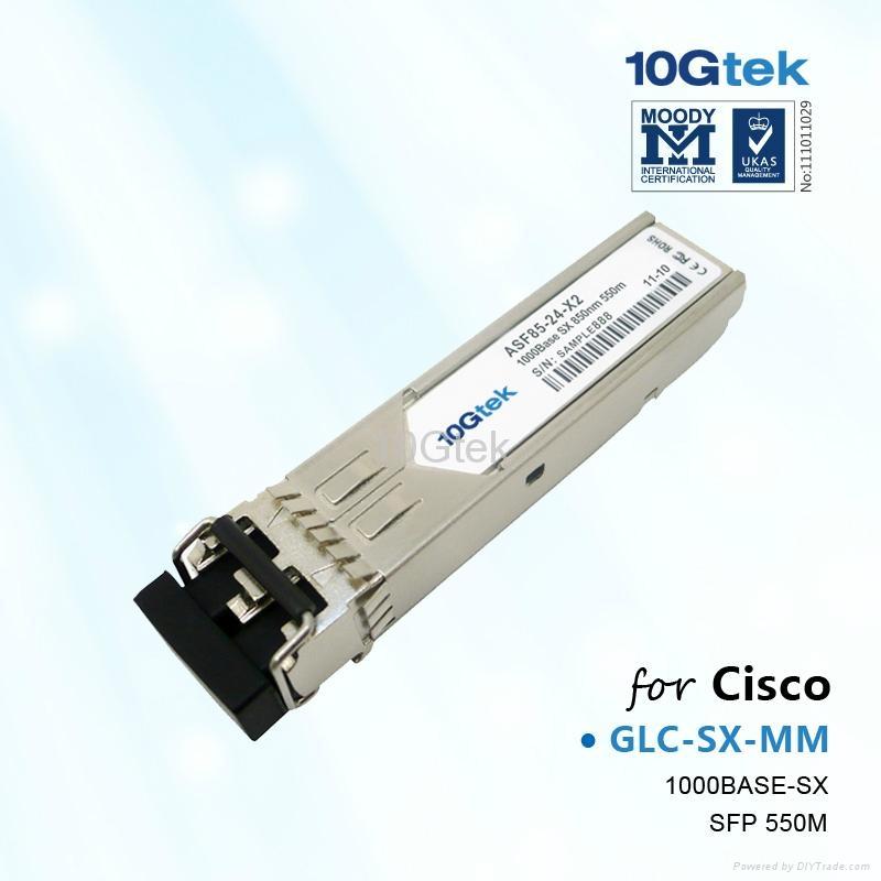 Cisco 1000Base-SX SFP Transceiver MODULE 850NM