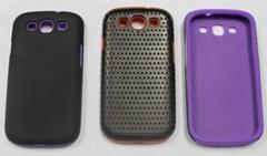 PC+硅胶手机保护套 三星超级防保护套