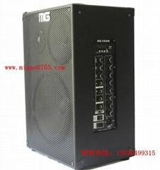 MG插卡音箱配雙無線麥