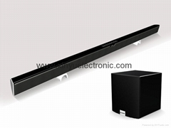 Slim Sound Bar Home Theater for Flat TV