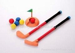 foam rubber golf set