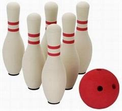 high quality foam rubber bowling pins