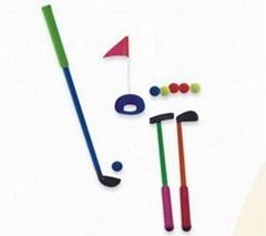 kids foam rubber golf set