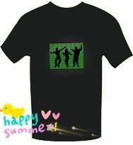 custom musical flashing shirts