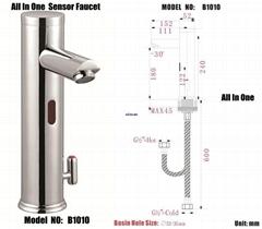 Sensor Faucet, bathroom sink faucet, bristan taps