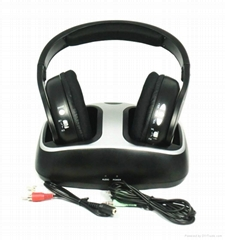 2.4G Hi-Fi Stereo Wireless Headphones SF-886 With FM Radio
