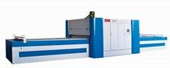 High-speed laminating press