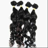 black color human hair extensions
