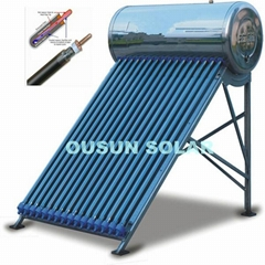 OUSUN Compact Pressurized Solar Water Heater With Heat Pipe