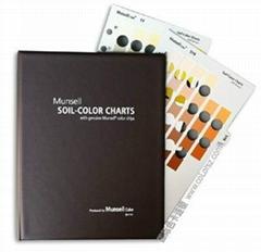 蒙賽爾土壤色彩圖表