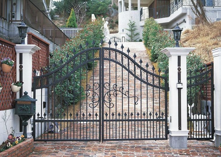 Villa iron gate product catalog china quanzhou