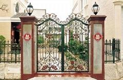 Beautiful House Iron Gate