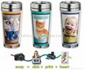 16OZ DIY travel Insert paper mug  2
