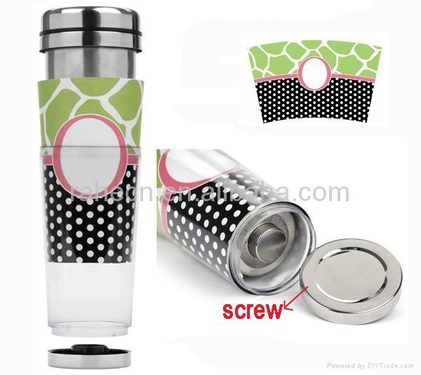 16OZ DIY travel Insert paper mug  3