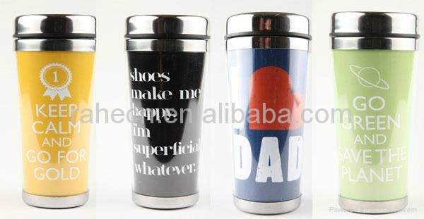 Stainless steel travel mug  2