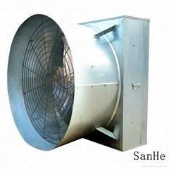 Cone exhaust fan for green house/livestock house